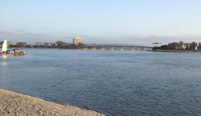 Beach View Paradise Point San Diego