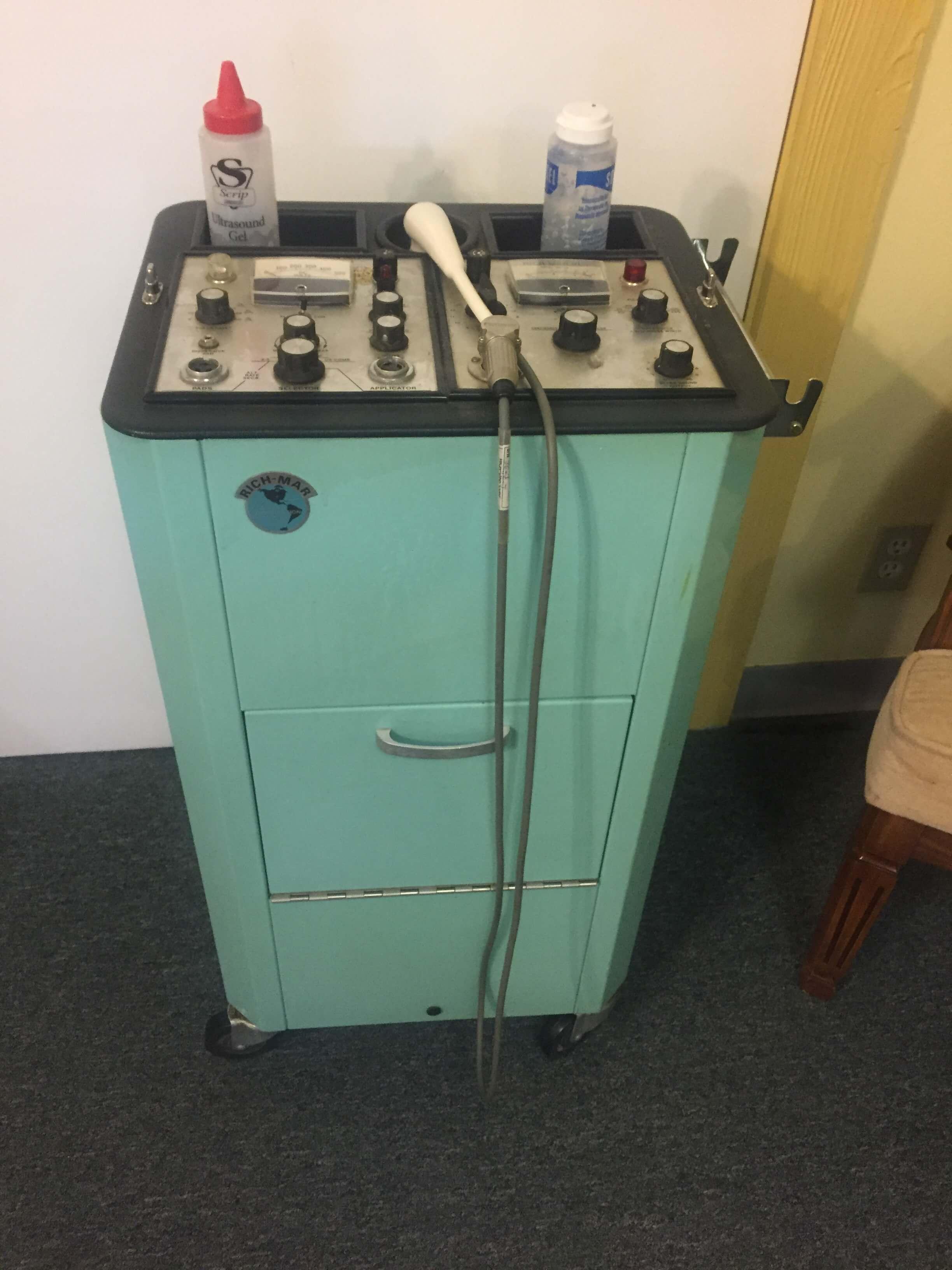 Ultrasound Stim Machine