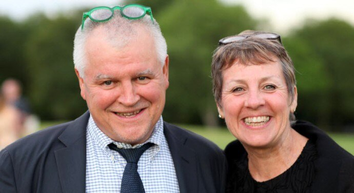 Dr Fred and Susan Schofield