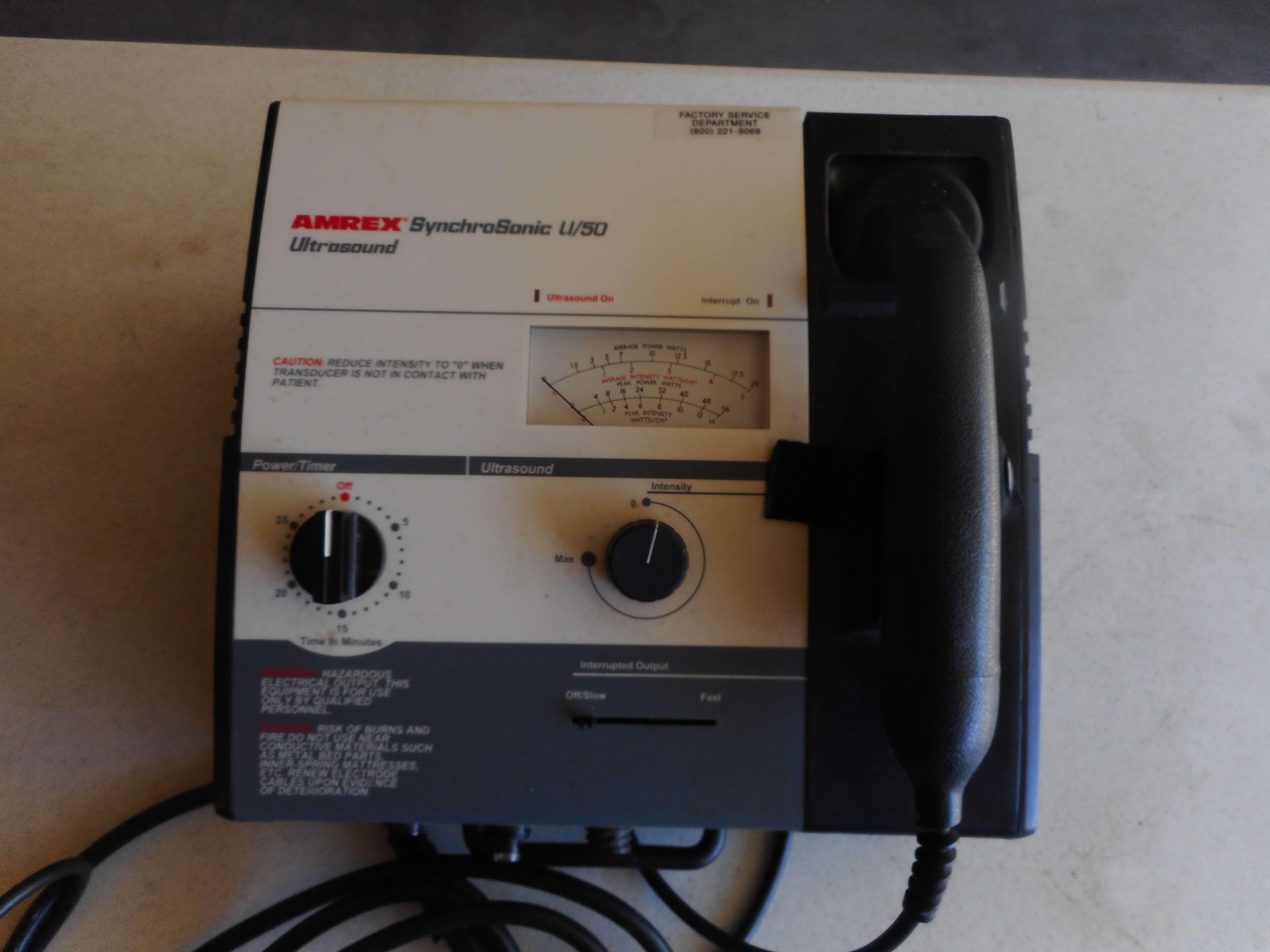 SynchroSonic U/50 Ultrasound
