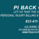 PI Back Office, LLC -Your Personal Injury Billing Life Cycle Management Solution