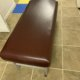 1 or a Lot of 2-5 Matching (Burgundy/Oxblood) Extremely Durable and Heavy Duty Dura-Comfort Contour Treatment Tables - Used, Good Condition