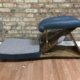 Gonstead Knee Chest Table With Matching Cervical Chair