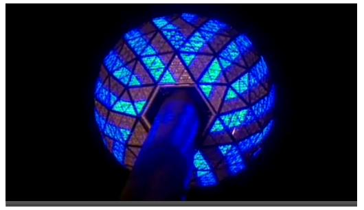 Times Square 2008 - 2009 ball drop live