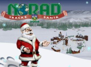 Norad tracks Santa Claus 2008