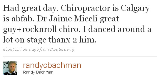 Had great day. Chiropractor is Calgary is abfab.