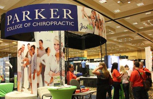 Booth at Parker Seminars in Las Vegas Nevada
