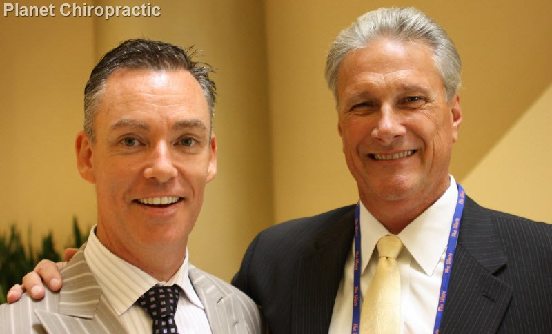 Chiropractors Brian Kelly and Tim Gay at Life West Wave