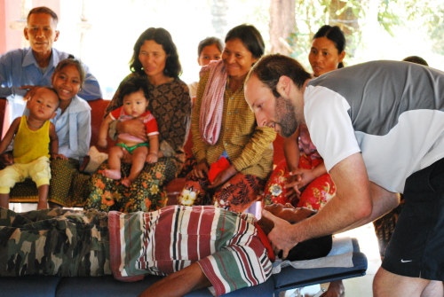 Life Chiropractic College West Cambodia Mission Trip