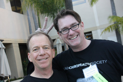 Chiropractors Darrel Crain and Damon West