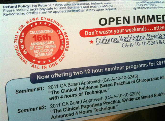 Cymerint Seminar One Day