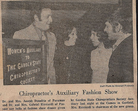 chiropractors auxiliary fashion show