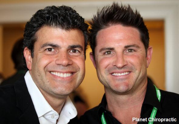 Fabrizio Mancini and Matt Hubbard