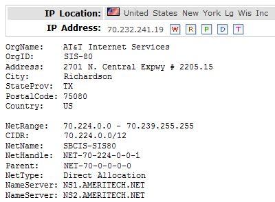 IP Location 70.232.241.19