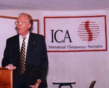 Chiropractor Ian Grassam 1997