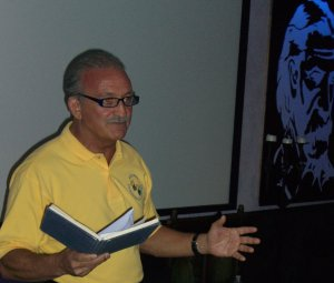 Chiropractor Joe Accurso Reads Poetry
