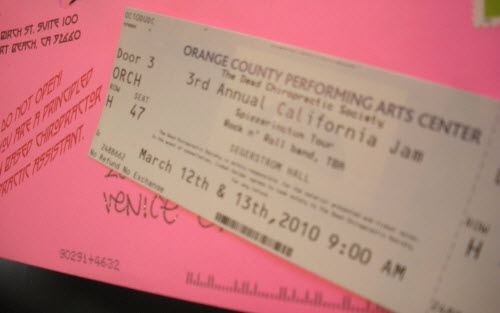 Orange County 2010 DCS Ticket