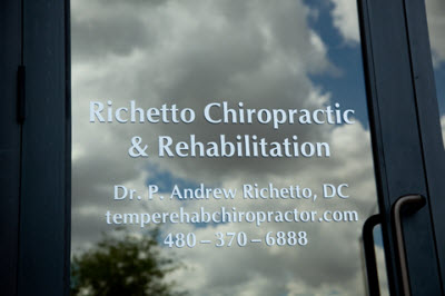 Richetto Chiropractic Rehabilitation Tempe AZ