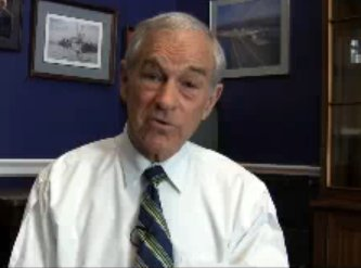 Congressman Ron Paul speaks on swine flu in America