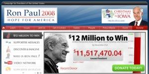 ronpaul 2008 web site