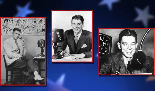 Ronald Reagan WOC Chiropractic Radio