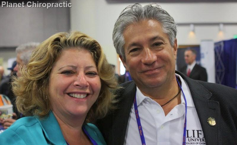 Chiropractors Sharon Gorman and Jay Handt