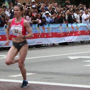 Tatyana Petrova 2009 LA Marathon Womans Winner