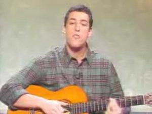 Adam Sandler Thanksgiving song