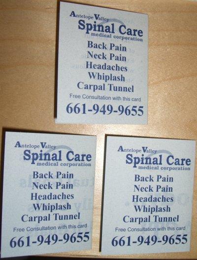 headaches back pain neck pain