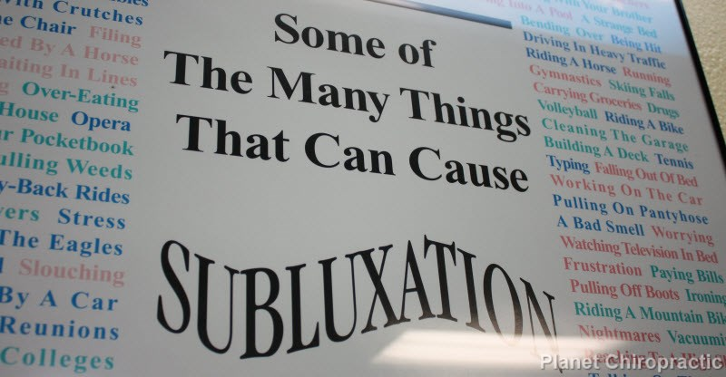 causes of subluxation