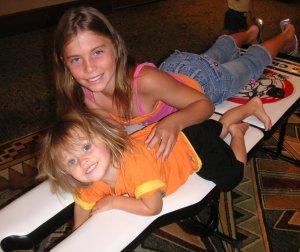 children receiving chiropractic care
