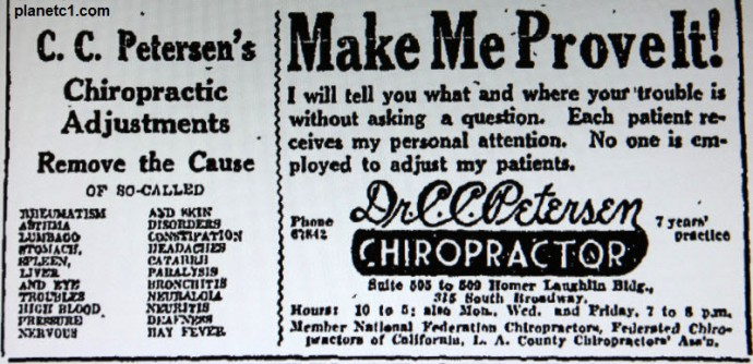 chiropractic make me prove it