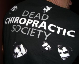 dead chiropractic society T-shirt