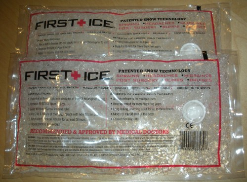 First Ice - Patented Snow Technology Ice Pack
