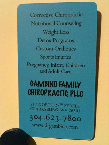 gambino family chiropractic