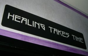 Healing Takes Time Epigram