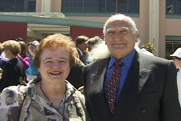 Drs. Irene and Reggie Gold