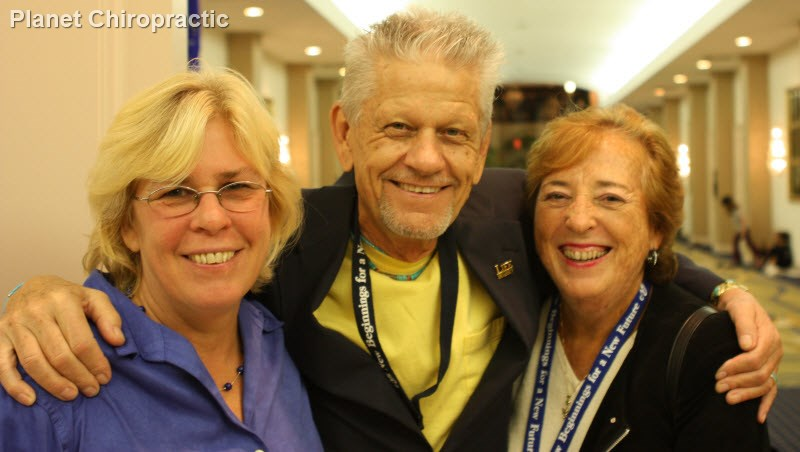 Chiropractors Jeannie Ohm, Chuck Ribley, and Ruth Sunshine Ribley