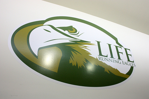 Life University Running Eagle Rugby