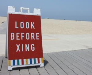 Look before Crossing