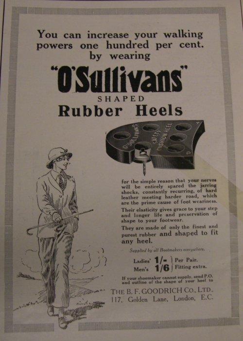 rubber shaped heels
