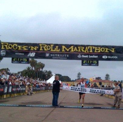 Khalid El Boumlili Wins 2009 San Diego Rock n Roll Marathon