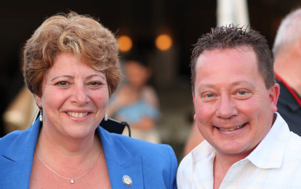 Chiropractors Sharon Gorman and Dean Sottile