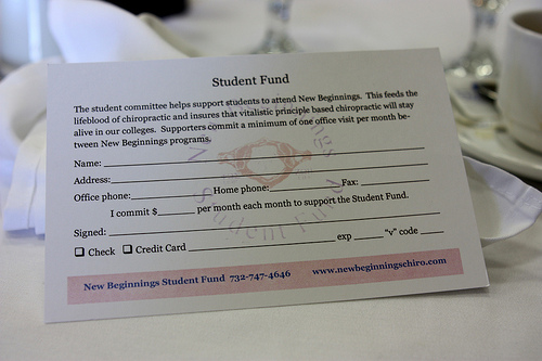 New Beginnings Student Fund New Jersey