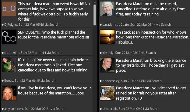 Thoughts on Pasadena Marathon 2009
